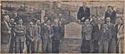 July 1951 Unveiling of commemorative stone