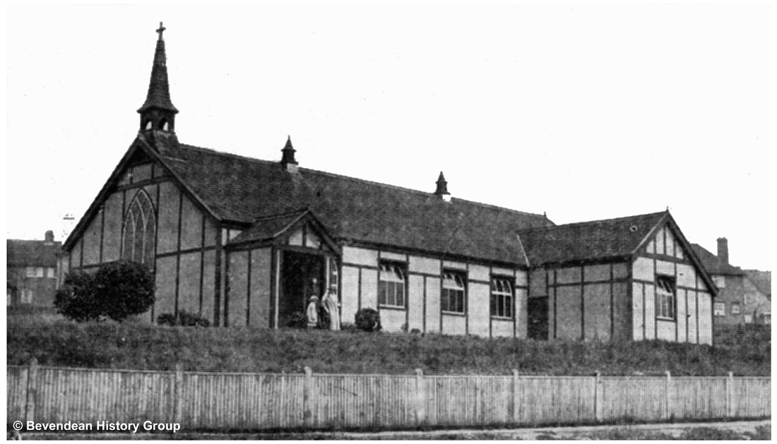 Moulsecoomb first church 1931