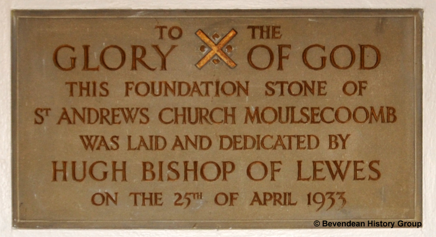 St Andrews Foundation stone